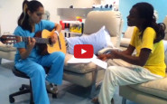 Video: Inspiring nurse and patient duet