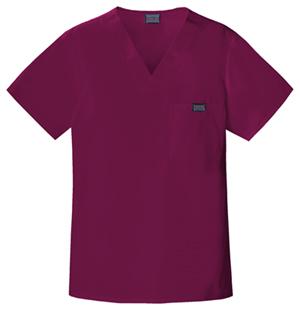 wine-mens-scrubs-top