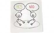 "Choosing between ""yes"" and ""no"""