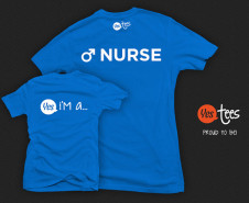 Yes I'm a Male Nurse T-shirt