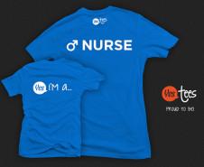 Yes I'm a Male Nurse T-shirt